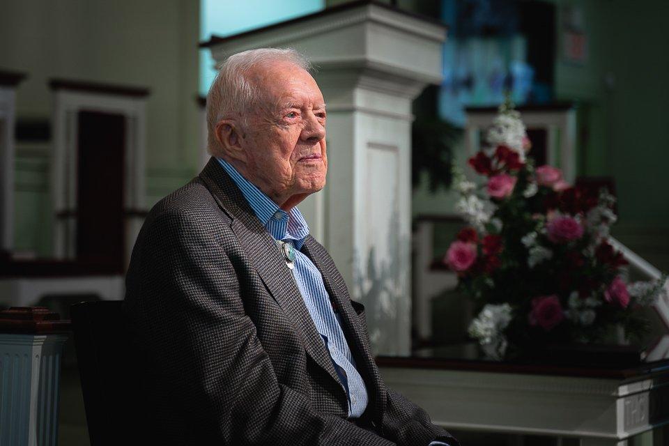 Portrait of President Jimmy Carter
