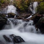Anna Ruby Falls in the Fall