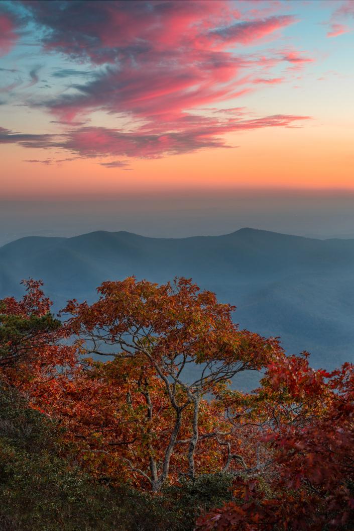 Beautiful Sunset on Blood Mountain