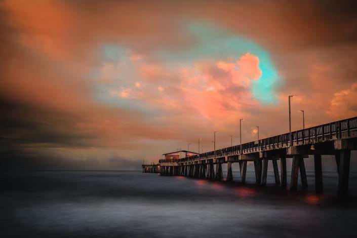 Pier on Orange Beach