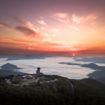 Incredible Sunrise Over Brasstown Bald