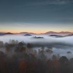 Morning Fog in Choestoe Valley