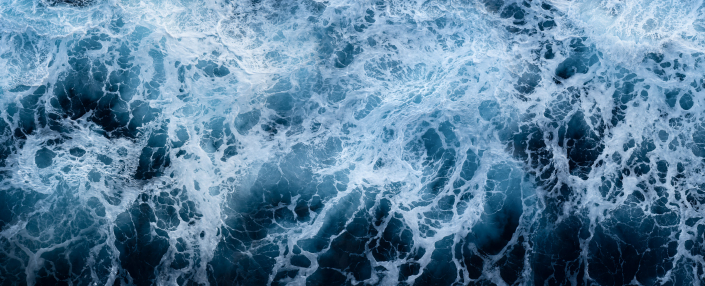 Sea Foam Abstract