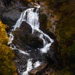 Cullasaja Falls Aerial