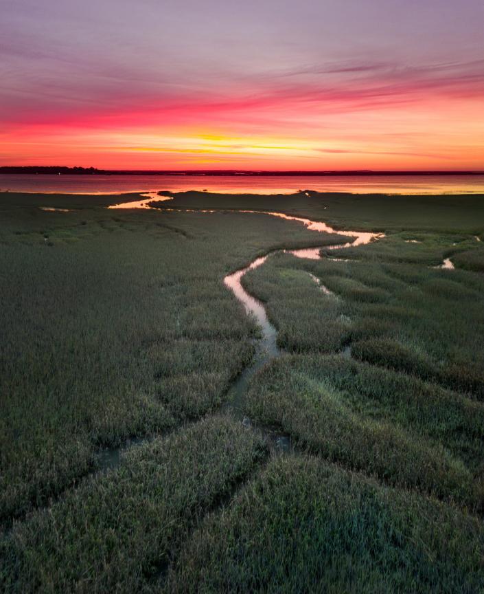 Daybreak on the Georgia Marsh