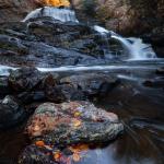 Cullasaja Falls Panoramic