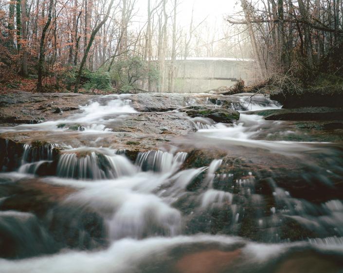 Elder Mill in Winter