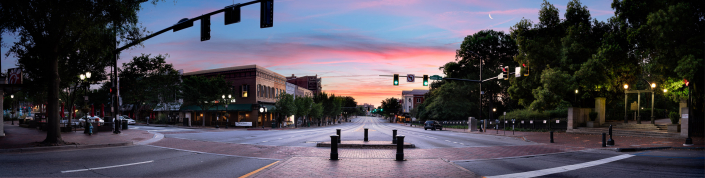 Downtown Athens Sunrise
