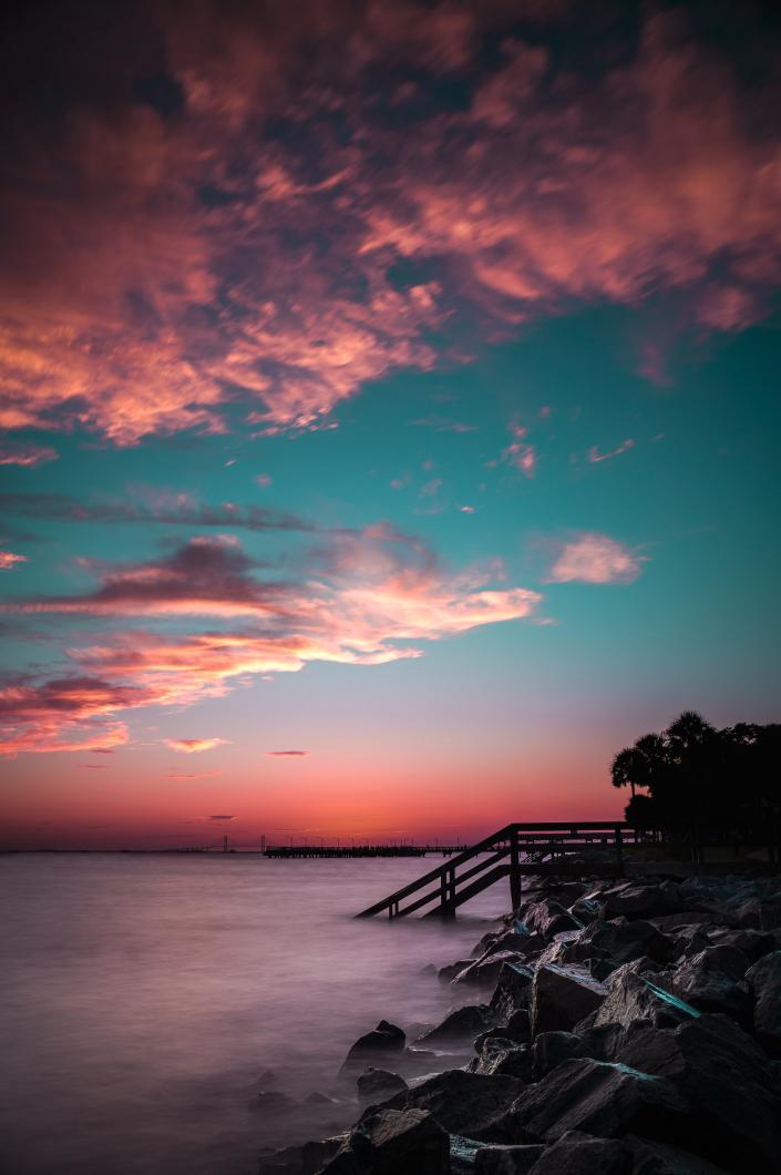 Sunset at Saint Simon's Island (SSI)