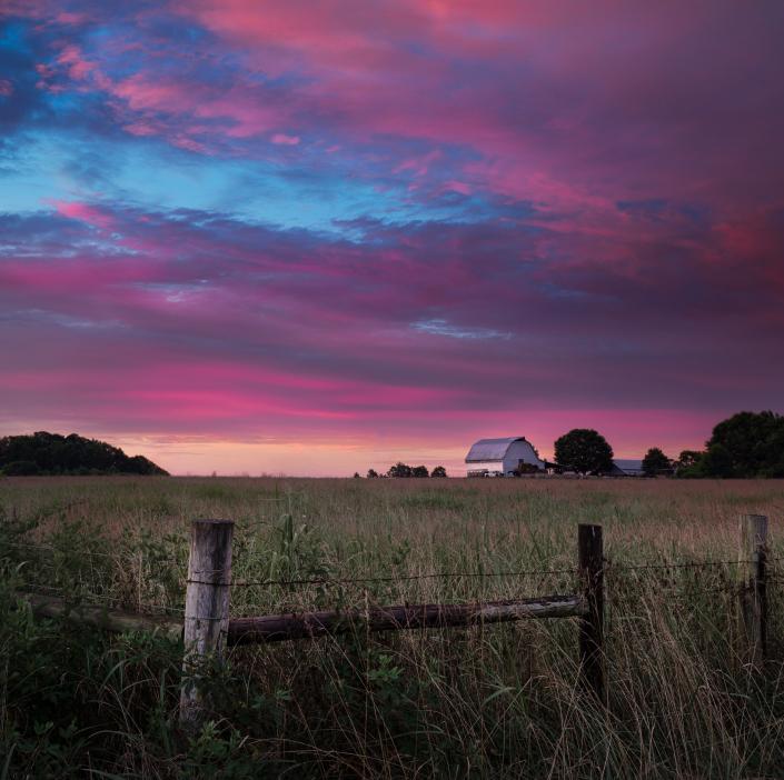 Sunrise Over Rose Creek
