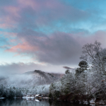 Snowy Sunrise at Vogel