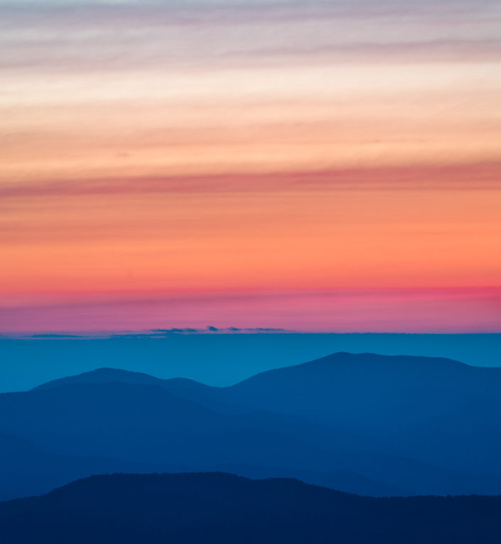 Sunrise From Blood Mountain